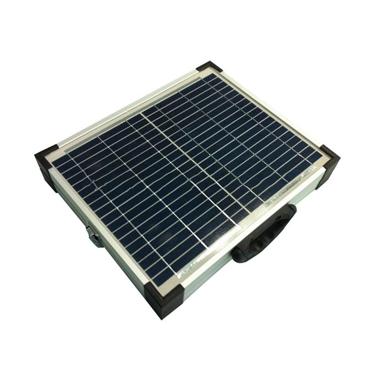 High Effiency Foldable Solar Panel 12V 20W  Monocrystalline Silicon 156×156 Mm