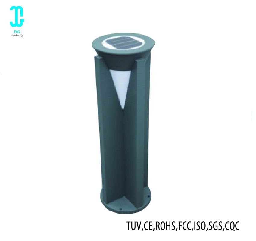IP65 Black Solar LED Outdoor Landscape Lighting Energy Saving Easy Installation